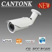 Waterproof IR 40M Varifocal Lens high image quality 1080p full hd ip camera