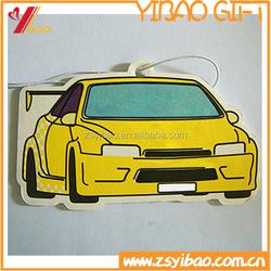 Customized Design Hanging Air Freshner/Custom Paper type Car Air Freshener/ Paper Car Air Freshener