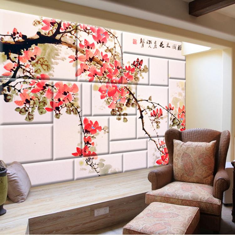 Vous d tendre ici nature paysage 3d papier peint pour for Sample wallpaper for living room