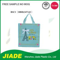 10 hot sale recycle pp non woven bag/symbolic foldable non woven bag/reusable opp non woven bag