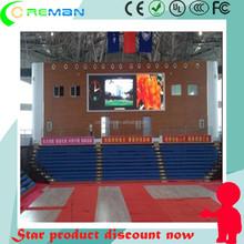 spurs basketball led stadium tv screen / HDMI DVI stadium live show led tv screen
