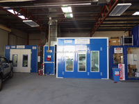 Australia standard spray booth baking oven paint booth