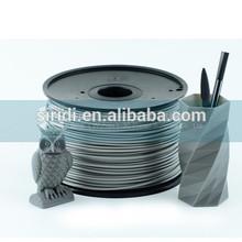 1.75mm 3mm filamento abs per stampante 3d estrusione di rivestimento sotto vuoto 1kg bobina