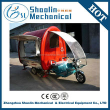 Multi-function trolley tricycle vending cart with hot sale