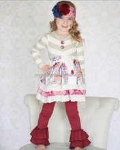 newborn thanksgiving turkey outfit Hot sale toddler girls fall winter full dress outfit for children girls