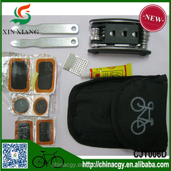 Bicycle multi tools set pocket set/bike tire repair tool patch tool