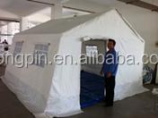 high quality no MOQ Canvas refugee camp tent