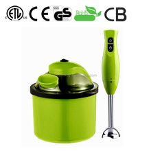 Professional ice cream maker electric hand crank with CE,GS,ROHS certificate