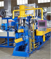 hot shear furnace for extrusion press