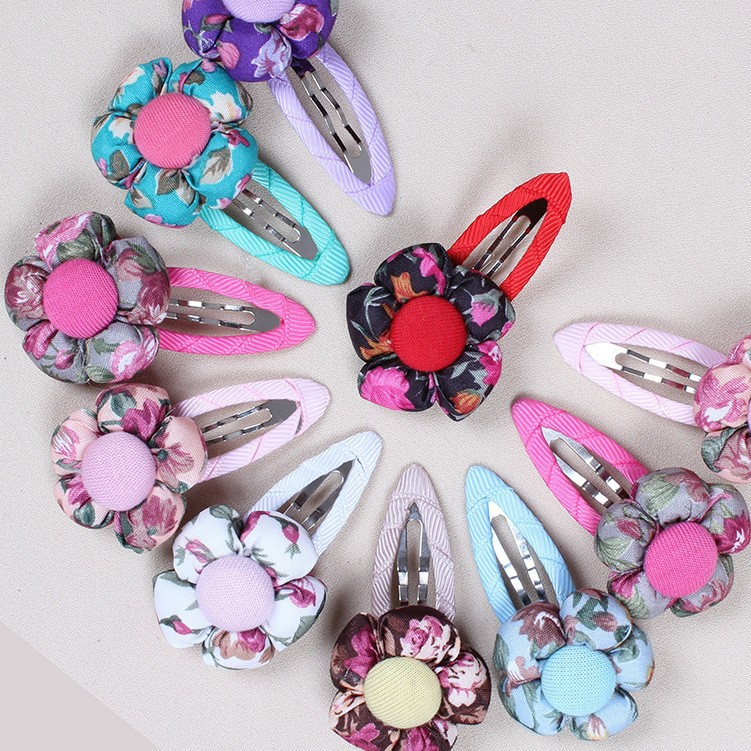 Metal DIY Hair Accessories 4CM-9CM BB Clips Drop-water design Clips Hair Jewelry For Baby Girl 50pcs/lot