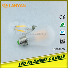 good news!Led Filament bulb factory 4w ra85 antique led edison style 400lm fob port is shenzhen