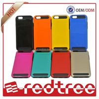 New Style TPU+PC Material Mobile Phone Cover 2 in1case For iPhone 6