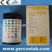 urine chemical tester strip 10 parameter
