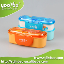 Plastic Food Lunch Container Fresh Preserving Box For Food Storage with Lock