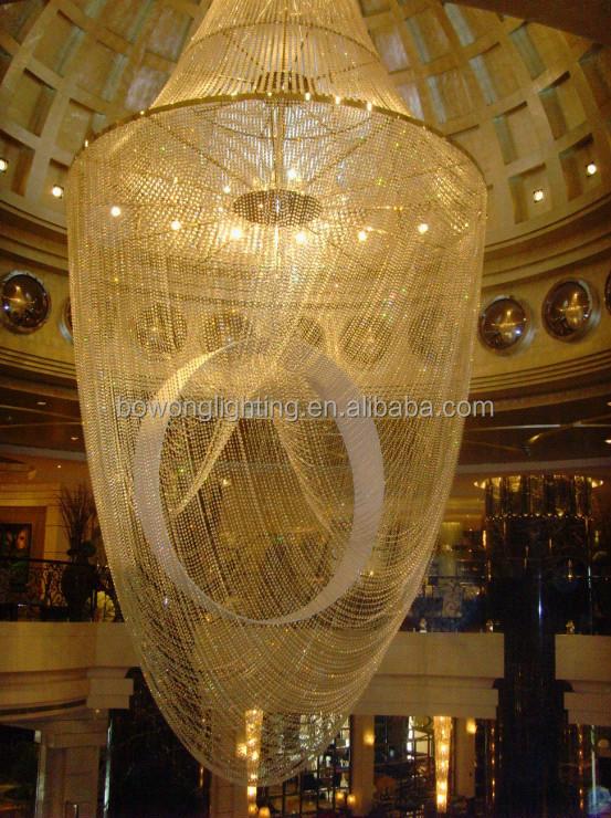 Hotel hall di design lampada a sospensione di grandi dimensioni ...