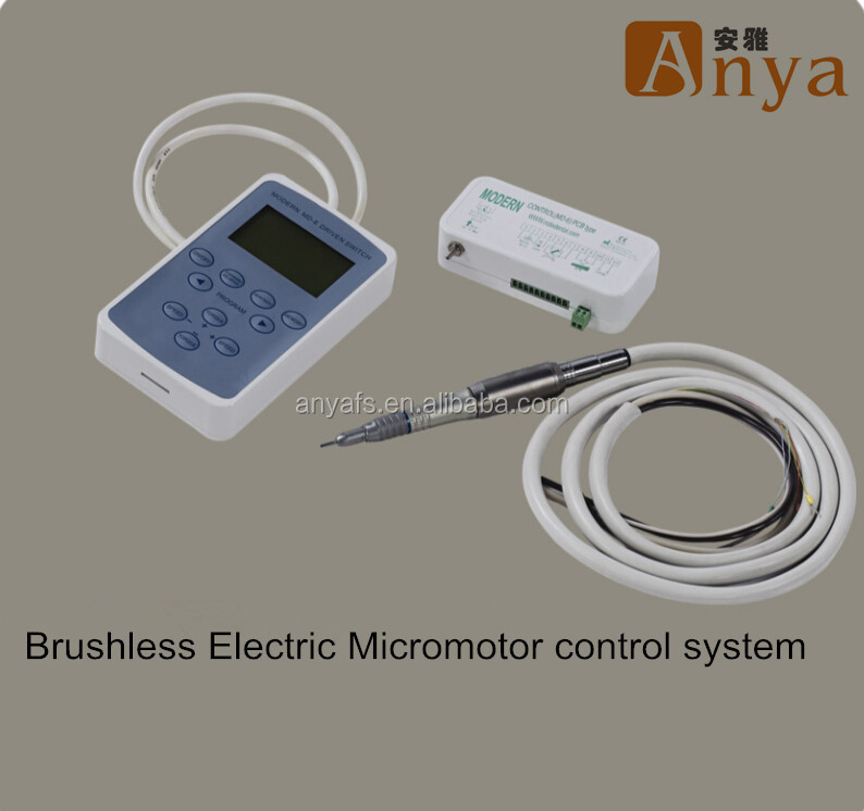 Brushless Electric Micromotor Drive Control System For