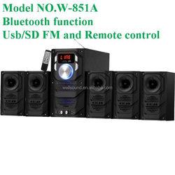 Subwoofer Speaker For A Good Design with USB/SD/FM/2MIC/REMOTE/LED DISPLAY