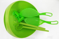 New Products in plastic salad bowl with lid/plastic salad bowl