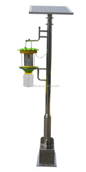 Effective 18V 20W solar insect light traps for farms