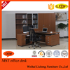 2015 China office desk manufacturer wooden executive desk