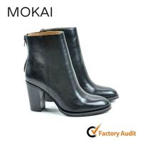 218-mk2 fashion ladies black high heel shoes latex boots
