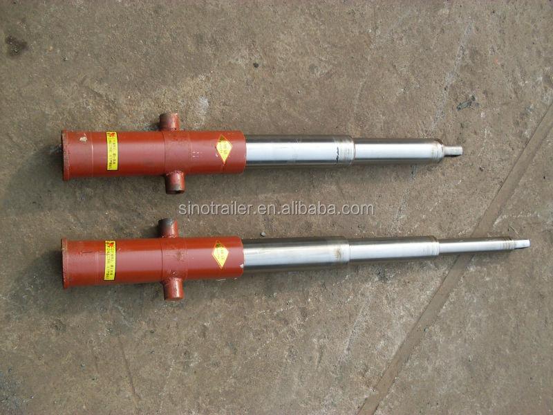 Hydraulic Dump Cylinders : Farm hydraulic dump trailer telescopic cylinder view