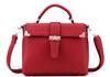 Alibaba china online shopping red tote bag shoulder bag for ladies