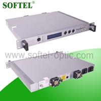 Fiber Optical 1310nm Transmitter with AGC Top Design(2 Power 2 fan)