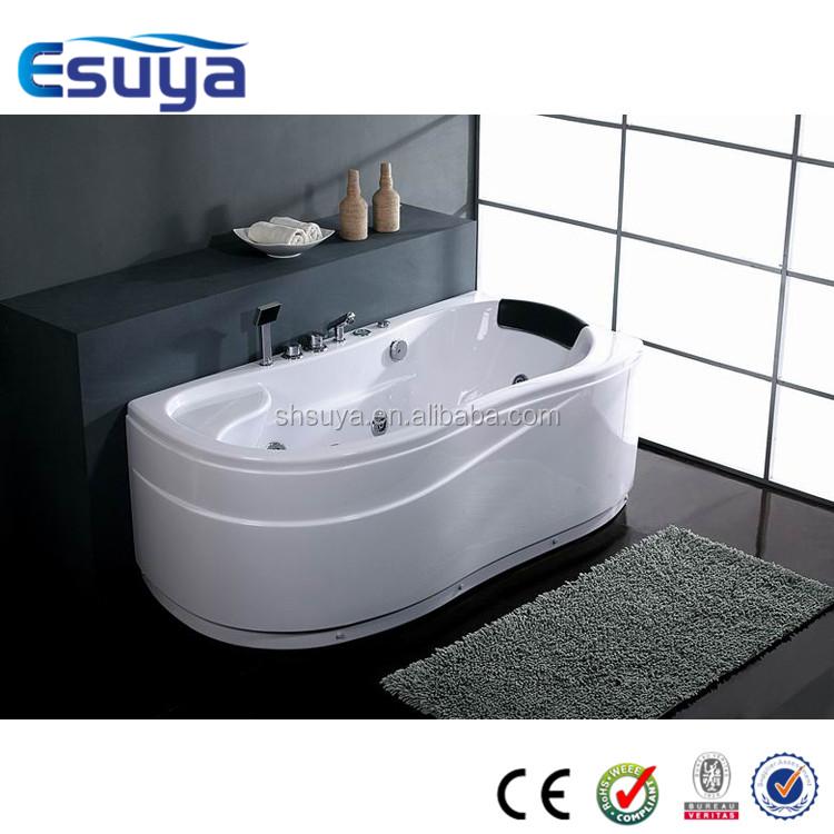 Freestanding european style one person indoor mini hot tub for European bathtubs