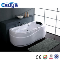 Freestanding european style one person indoor mini hot tub