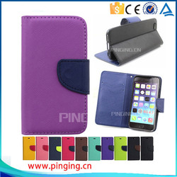 For IPhone 6 Case China Supplier Wallet Design Cover Pu Leather Mobile Phone Cases For iPhone 6 Cell Phone Case