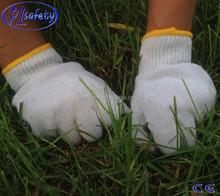 RL SAFETY Attension! Best selling cotton knit gloveswhite walmart