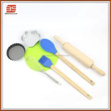 baking tools set of cupcakes and silicone basting brush set