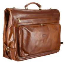 luxury leather Suit / Garment Carrier
