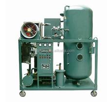 Hydraulic oil dewatering plant / high vacuum used lubricating oil purifier machine TYD Series