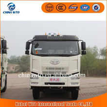FAW J6P 6X4 350hp heavy truck (U-bucket) dump truck dimension for sale