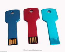 colorful key USB mini metal USB USB2.0 memory flash drive
