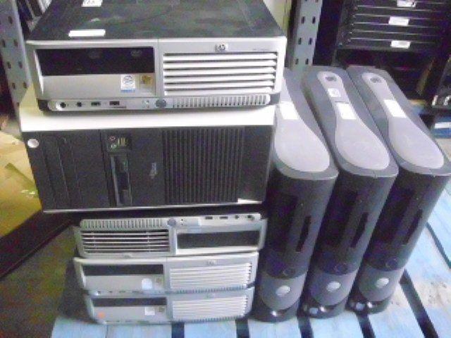 Компьютеры и программное обеспечение компьютера рабочий стол фирменных система двухъядерный в наличии для продажи