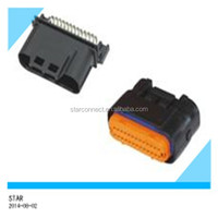 Factory price waterproof electrical 26 way pin ecu male female automotive connector