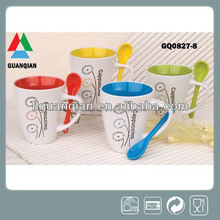 310ml ceramic coffee cup for promotional gift