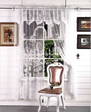 elegante cortinas valance