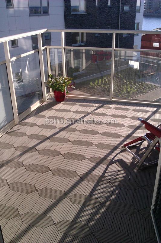 garden tile self installing wpc decking tiles patio