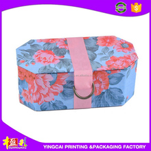 2015 Newest fashionable special texture paper gift box for christmas gift made in China