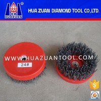 High quality roller nylon wire brushes for stone polishing and grinding