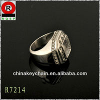 Champion ring stainless steel rings alibaba Wholesale souvenir men's rings