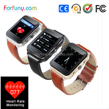 2015 OEM Fashion Design Touch Screen Smart Watch Mobile Phone With 2G Sim Card Support Sleep Monitor