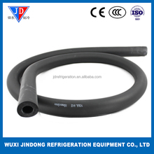 Insulation material for copper pipe, 5/8'' * 3/8'' rubber foam insulation pipe