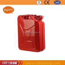 20L red metal fuel can