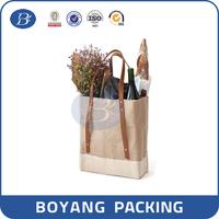 wholesale wine bottle burlap jute bags