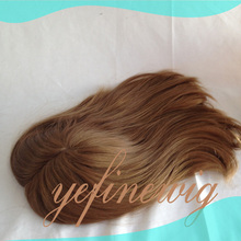 Hot Selling Blonde Human Hair Cheap Hair Pieces With Clips